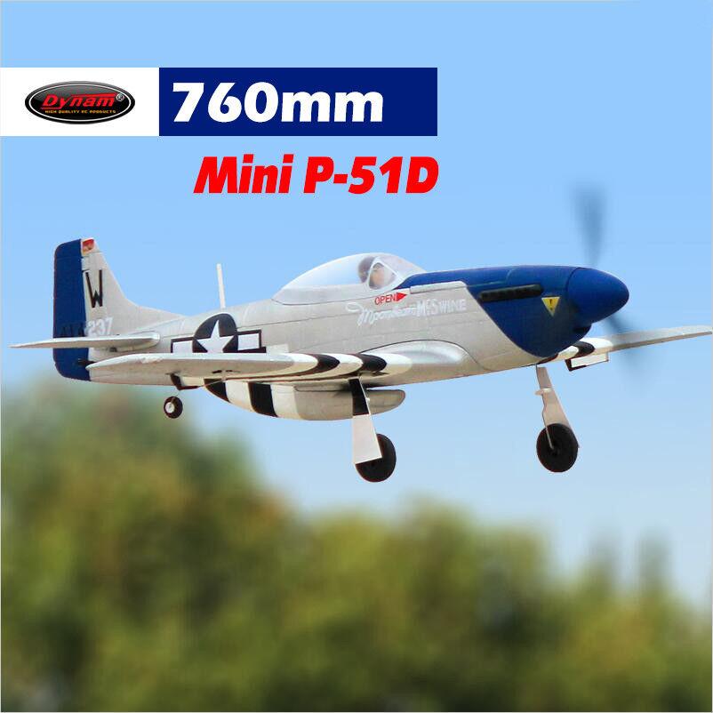 Dynam Mini P-51 762mm Wingspan - SRTF