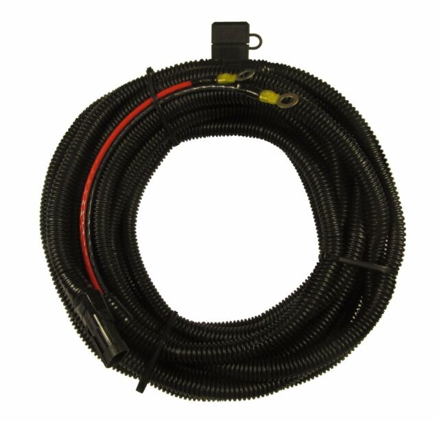 harmar electric lift battery cable wiring harness 25ft 10 gauge ebay rh ebay com Power Wheelchairs Harmar Wheelchair Lifts