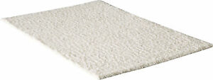 Qualite-Premium-Tapis-Shaggy-A-Poils-Longs-Emotion-Couleur-Unie-Creme-Oko-Tex
