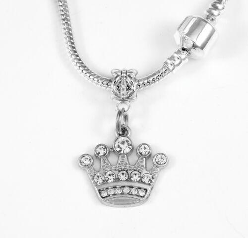 Couronne Collier Couronne Cadeau Chaîne Princess Present Crown lateur à travers la Couronne Collier