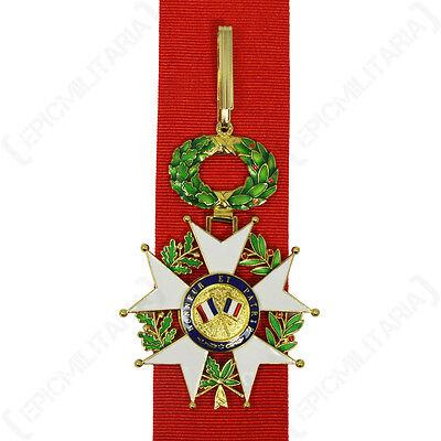 AUSTRÍACO MILITAR MERIT CRUZ 3º Clase Con War Decoración MEDALLA Premio RePro
