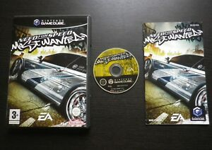 NEED-FOR-SPEED-MOST-WANTED-JEU-Nintendo-GAMECUBE-COMPLET-envoi-suivi