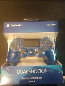 Official Sony PS4 DualShock 4 Wireless Controller Wave Blue Edition NEW