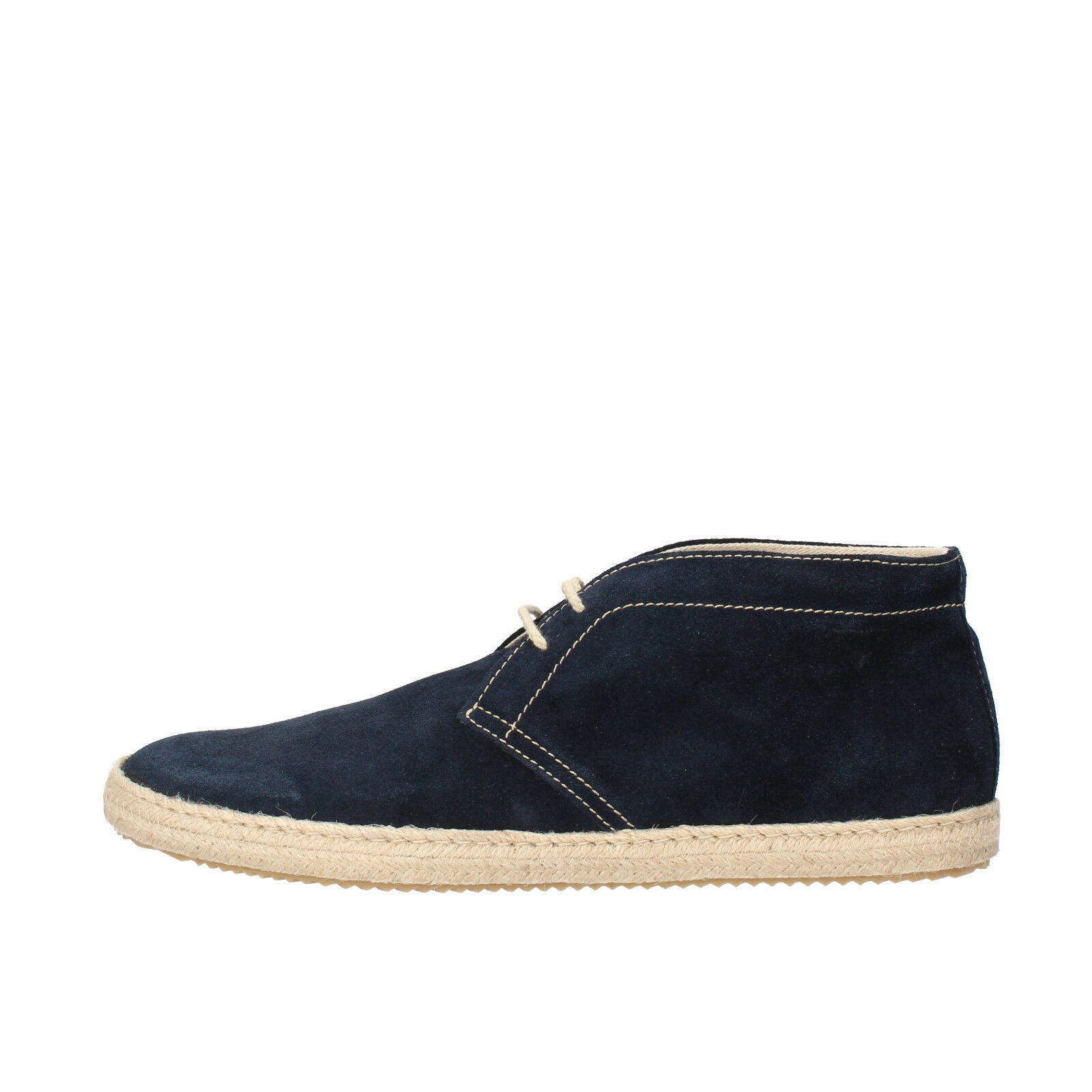Mens shoes DOCKSTEPS 10 (EU 44) desert boots bluee suede AG841-D