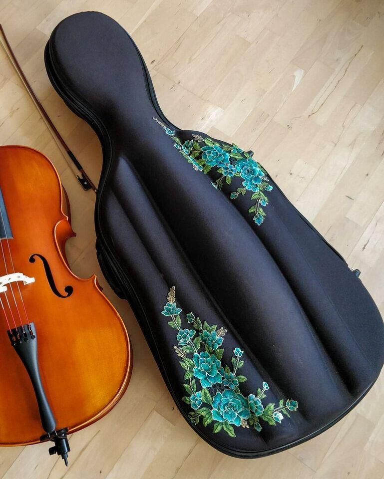 Cello taske / kasse, Fuld størrelse 4/4