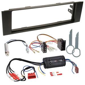 audi a3 8p bose 03 06 1 din autoradio einbauset adapter kabel radioblende ebay. Black Bedroom Furniture Sets. Home Design Ideas