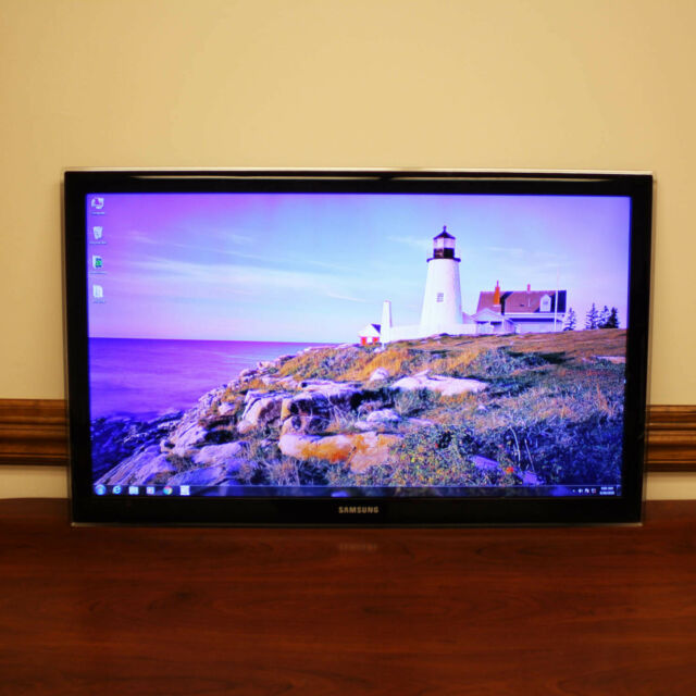"Samsung UN40C5000QF 40"" TV 1080p HD LED Television 4x HDMI"