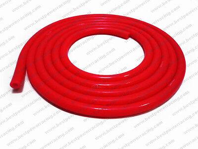 6mm ID Silicone Vacuum Hose Turbo Dump Radiator Silicon Air Hose Pipe RED 3 M