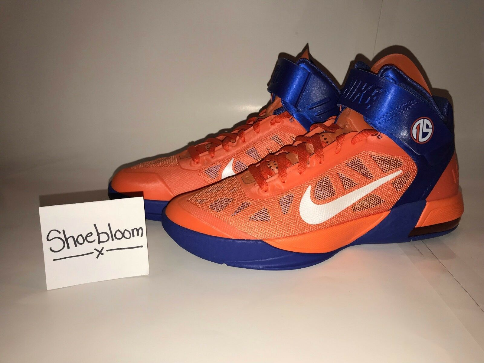 Nike Air Max Fly By Amare STAT NY Knicks PE Size 10.5 100% Authentic BNIB