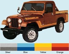 Jeep Decal Kit - 1981-82 Jeep Scrambler