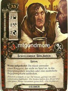 2x Schielender Südländer  #053 Lord of the Rings LCG Die Schwarzen Reiter