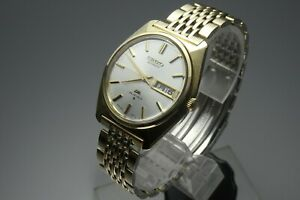 Vintage-1973-JAPAN-SEIKO-LORD-MATIC-WEEKDATER-5606-7000-23Jewels-Automatic