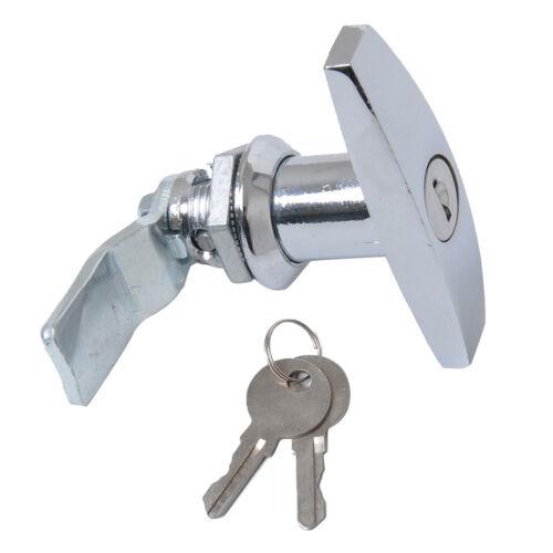 T-Griff Garagentorschloss Garagentor-Riegelschloss Schlüssel Schraube