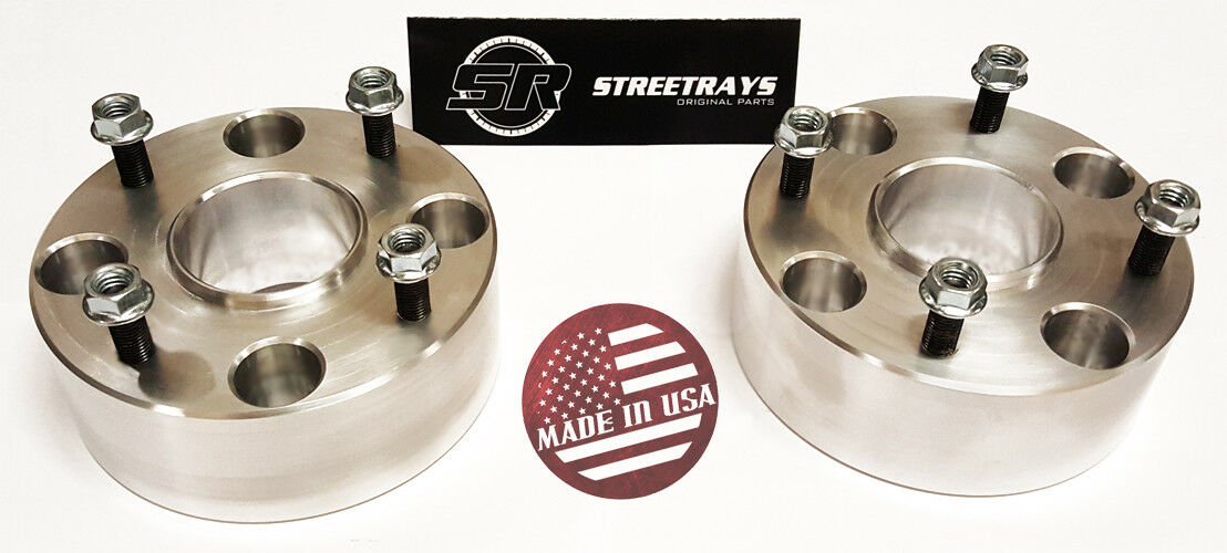 TUPARTS 2Pcs 2 50mm Thick 4x110 to 4x110 10x1.25 Studs Wheel Spacers hubcentric Compatible with 2007-2010 Honda Rancher 420