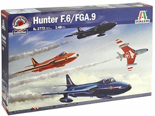 Italeri Hawker Hunter F.6/ Fga.9 Kit Construcción Modelo 1:48 Art 2772