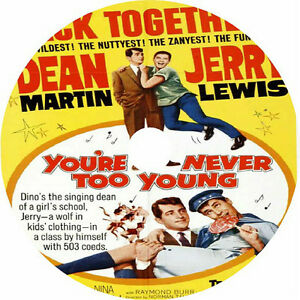 You-039-re-Never-Too-Young-DVD-Dean-Martin-Jerry-Lewis-Diana-Lynn-Nina-Foch