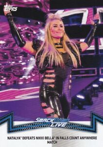 2018-Topps-Wwe-de-Mujer-Division-Cartas-Coleccionables-Momments-SDL-5-Natalya