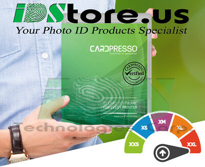 Cardpresso Xxl Id Card Design Software Cp1400 All Regions Ebay