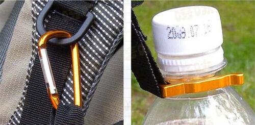 Lot of 24 Carabiner Water Bottle Holder Hook Lock Keychain Belt Clip Clamp New