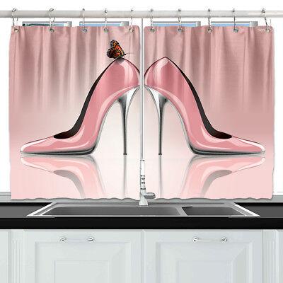Fashion Pink High Heels Window D