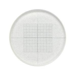 DIV-0-05-mm-Microscope-Oculaire-micrometre-Grid-Net-Measuring-Cross-dirigeant-reticule