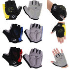 Fashion Bike Cycling Gloves Bicycle Motorcycle Sport Gel Half Finger Gloves S-XL