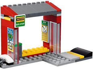 sale retailer super quality various colors Details about LEGO City Bus Or Coach Stop Train Station Idea 60197 60198