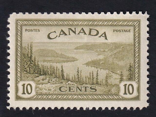 Canada 1946 Great Bear Lake 10c KGV Peace Issue, MNH OG sc#269