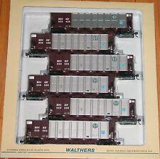 WALTHERS 932-7809 RD 4 COAL HOPPER 6-PACK BNSF # 2