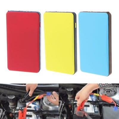 12V 20000mAh Mini Portable Multifunctional Car Jump Starter Power Booster Battery Charger Emergency Start Charger Yellow