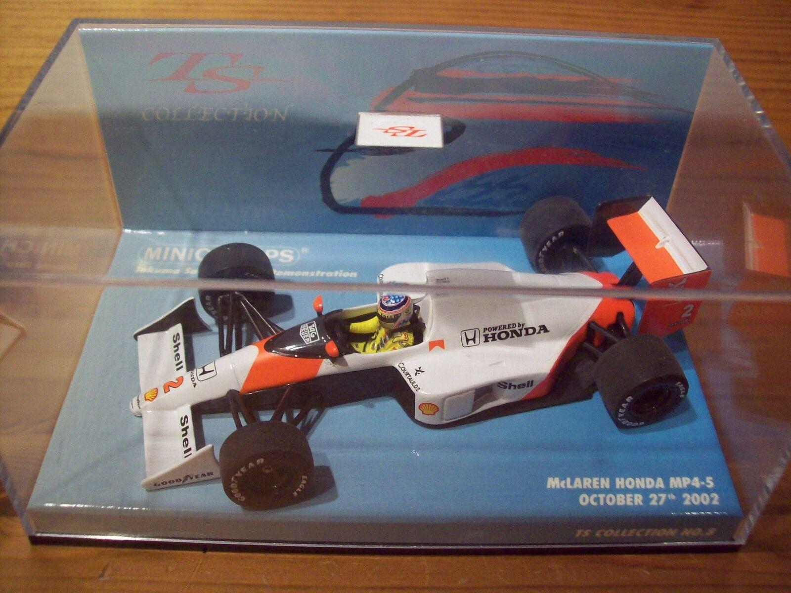 1 43 McLaren Honda MP4 5 Takuma Sato recueillir Nr 8 Motegi Demonstration 2002