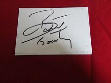 George BOATENG NOTTINGHAM FOREST 2000'S ORIGINAL HAND SIGNED FOOTBALL CARD