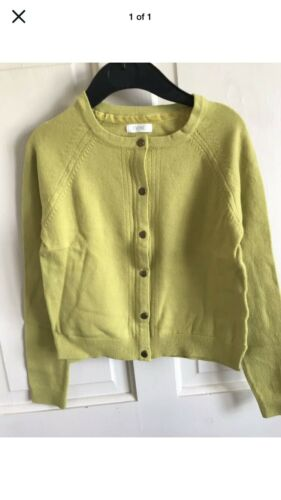 Girls Mustard BNWOT Next Lightweight// Soft Touch Cardigan Age 4 or 7 Years