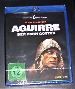 Aguirre Le la Colere Dieu Avec Klaus Kinski blu ray Rapide Envoi Nouveau Ovp