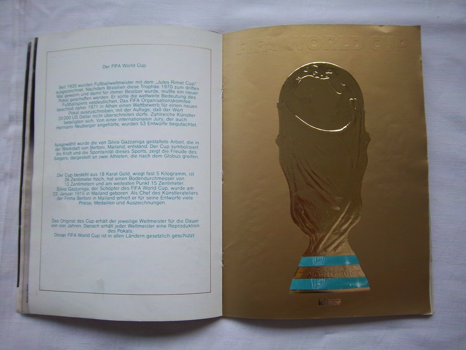 Orig.Komplette PRG   Weltmeisterschaft SPANIEN 1982 1982 1982 - Sonderotition      SELTEN 66c175