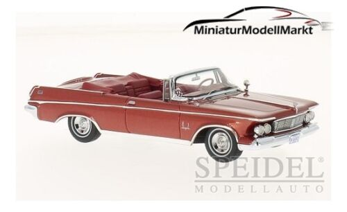 #46845 1963-1:43 metallic-rot Neo Imperial Crown Convertible