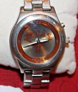 rare in texas longhorns fossil kaleido watch ncaa college nice rh ebay com