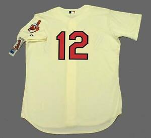 online store 541de 09b47 Details about FRANCISCO LINDOR Cleveland Indians Majestic Authentic Home  Baseball Jersey