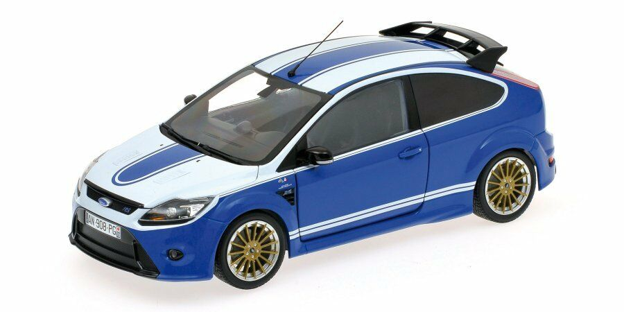 Ford focus rs 2010 roten ford capri 1972 tribut 1,18 modell 100080072 minichamps