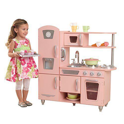 KidKraft 53179 Cucina Giocattolo in Legno per Bambini Vintage con (l3U)