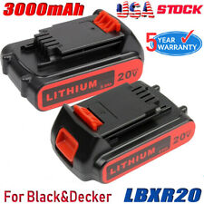 20v 2.0ah Lithium-ion Battery for Black & Decker 20 Volt Lb20 Lbx20 Lbxr20