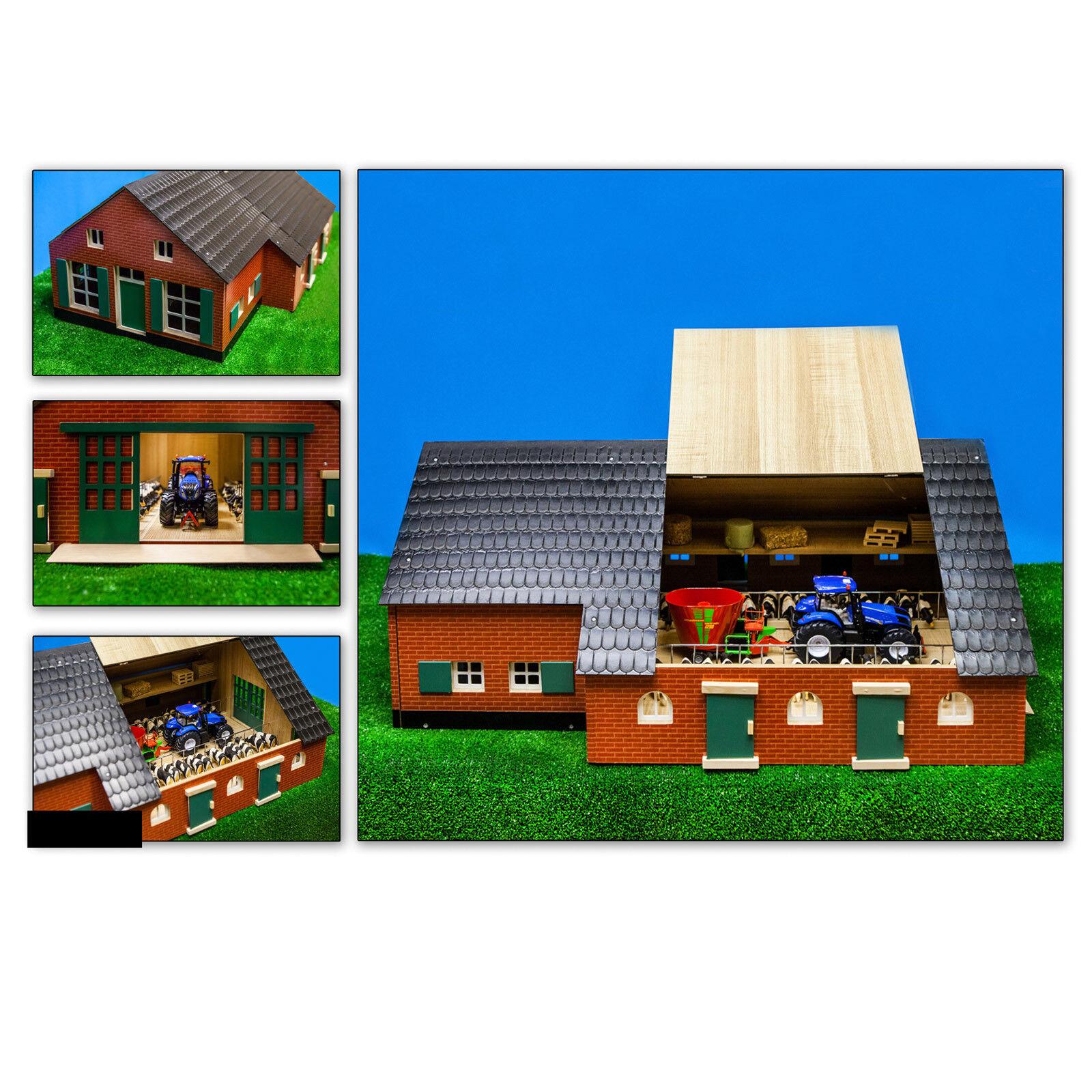 Kinder Spielzeug Holzspielzeug Holz Bauernhof Bauernhaus mit Stall M1 M1 M1 32 f4de98