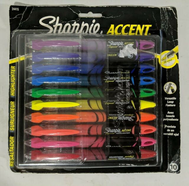 Sharpie Accent Pen Style Liquid Highlighter Assorted Colors (229684)