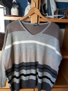 Cachemire M Pullovergr Hommes Marron Beige Gris Ray rErS0qw