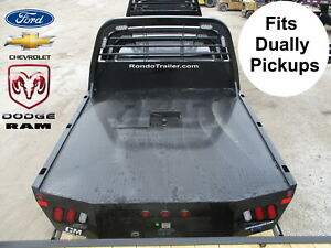 details about new cm ss dually truck flat bed chevy \u0026 dodge lb truck 8\u00276\