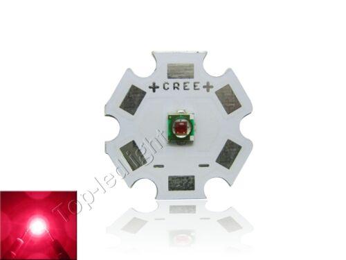 10x Cree XPE Photo Red 660nm High Efficiency LED Light 2.1V-2.5V 350mA-1000mA