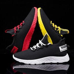 Zapatillas-Para-hombre-Zapatillas-Transpirable-Ligero-deportivos-zapatillas-tamano-de-Reino-Unido-5
