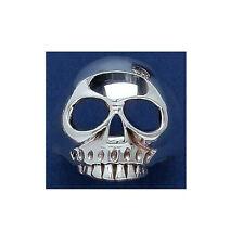 Bague Skull  Tete de mort squelette ARGENT neuf T 68 BijouterieJOLYBIJOUX