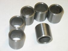 steel ring 8mm od bushing 5.2mm ID 4.3mm thick 1105x10//lot of 10