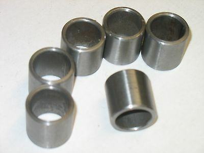 """10 pcs stainless steel spacer bushing 1//2/"""" OD x  5//16/"""" ID x 3//8/"""" long tall"""